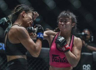 Stamp Fairtex defeats Asha Roka at ONE Dreams of Gold
