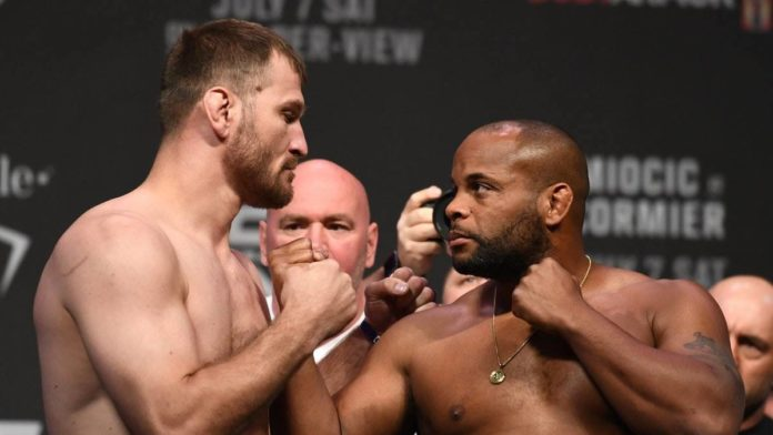 ufc 241 weigh in results