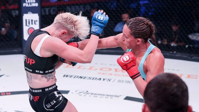 Julia Budd faces Cris Cyborg in defense of her Bellator MMA featherweight title