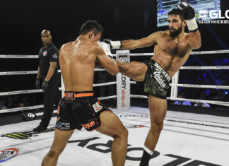 GLORY 69 Dusseldorf: Marat Grigorian defends his lightweight title against Tyjani Beztati