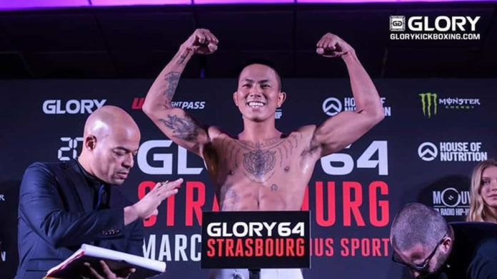 River Daz vs Masaya Kubo added to GLORY 69 Dusseldorf