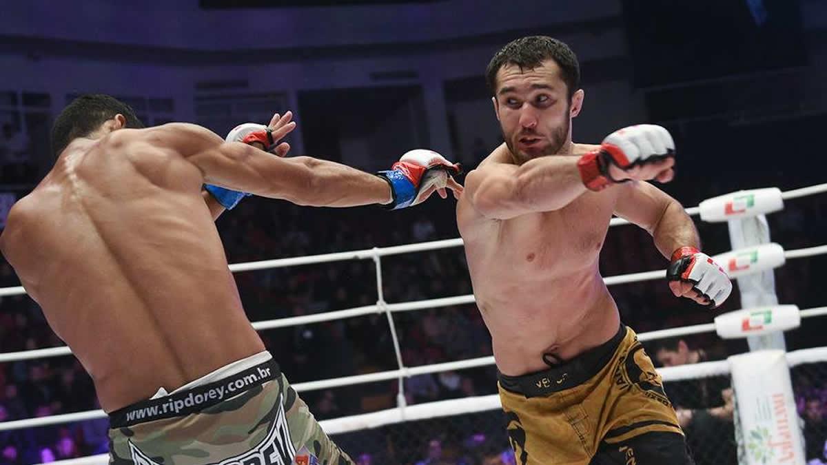 M-1 Challenge 105: Morozov defends against Rettinghouse