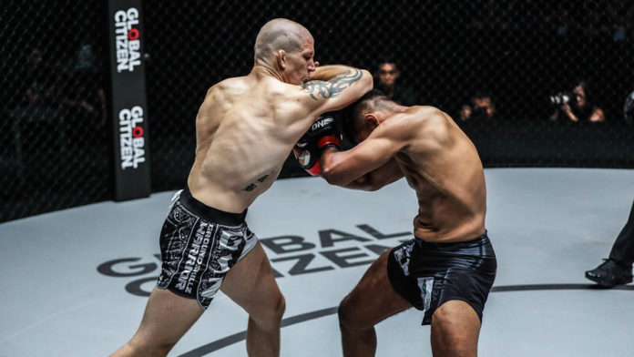 ONE Dawn of Valor: Zebaztian Kadestam (pictured left) defends welterweight title against Kiamrian Abbasov | Pic: Supplied/ONE Championship