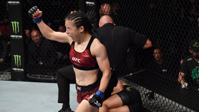Zhang Weili claims UFC Women's Strawweight title