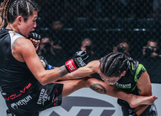 ONE Century results Angela Lee submits Xiong Jing Nan
