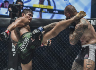 Aung La N Sang defeats Brandon Vera at ONE Century Part 2