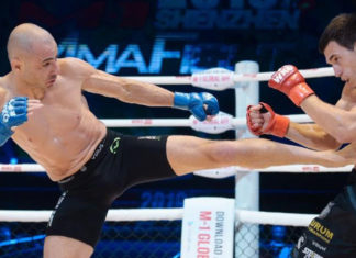 Chris Kelades defends M-1 Challenge Flyweight title against Assu Almabaev