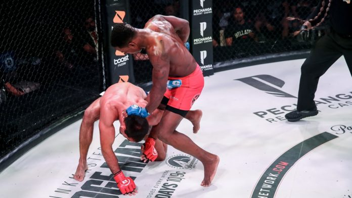 Bellator 229 results Larkin defeats Koreshkov