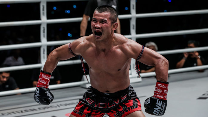 Nong-O Gaiyanghadao vs Saemapetch Fairtex headlines ONE Edge of Greatness