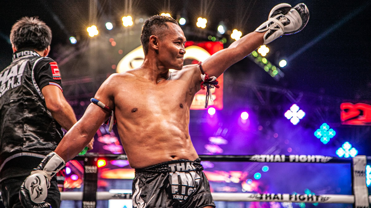 Saenchai faces Batjargal Sundui at Thai Fight Bangsaen