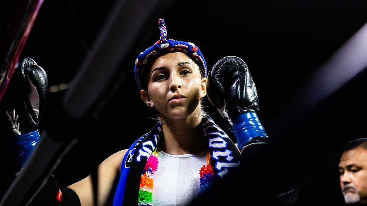Muay Thai fighter Selina Flores joins GLORY Kickboxing