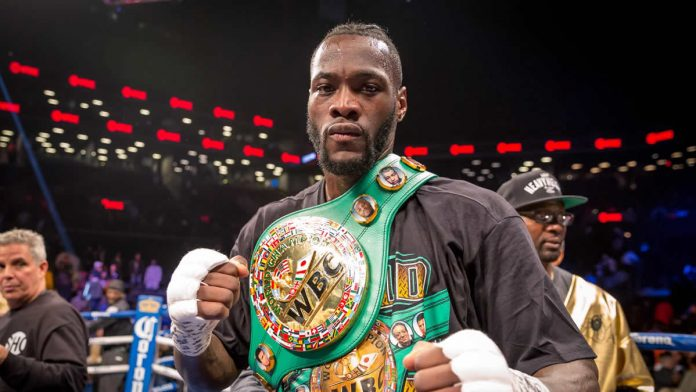 Deontay Wilder knocks out Luis Ortiz in the seventh round of rematch