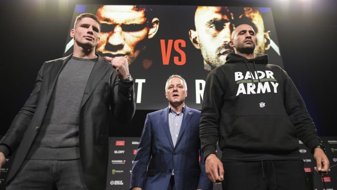 Rico Verhoeven defends heavyweight title against Badr Hari at Glory Collision 2