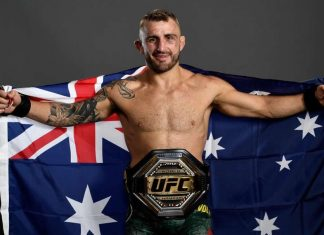 Alexander Volkanovski claims UFC featherweight title against Max Holloway