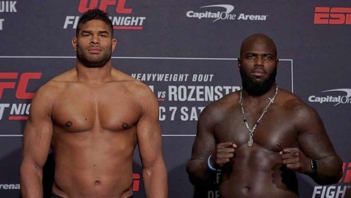 UFC on ESPN 7 weigh-ins