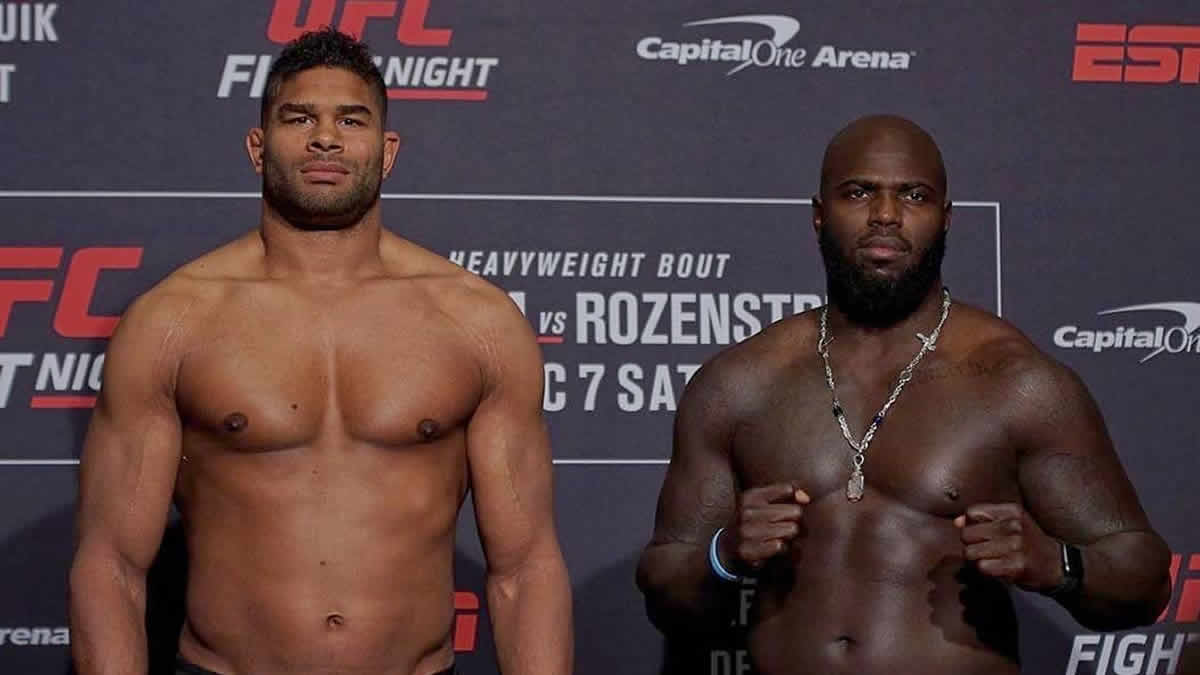 UFC on ESPN 7 weigh-in results: Two fighters heavy