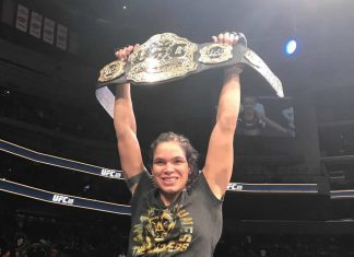 Amanda Nunes defeats Germaine de Randamie at UFC 245