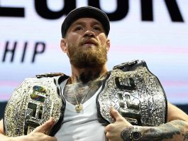 Conor McGregor former two-division UFC champion