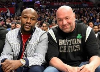 Floyd Mayweather Jr and Dana White are working together again