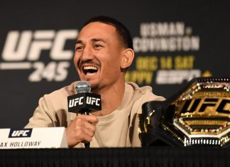 Max Holloway says he got bunch of phobias, including flying cockroach