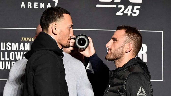 Fighters come face to face at UFC 245 Media Day