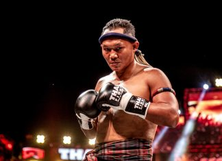 Saenchai in Thai Fight