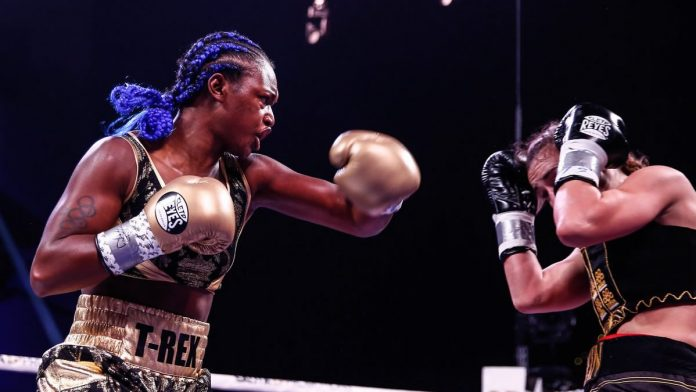 Claressa Shields becomes three-division world champion