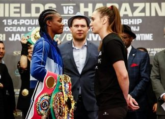 Claressa Shields vs Ivana Habazin fight results