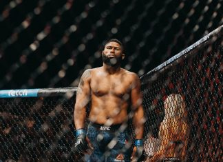 UFC heavyweight Curtis Blaydes