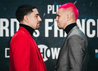 Danny Garcia vs Ivan Redkach airs live on Showtime