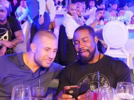Gokhan Saki and Michael Jai White