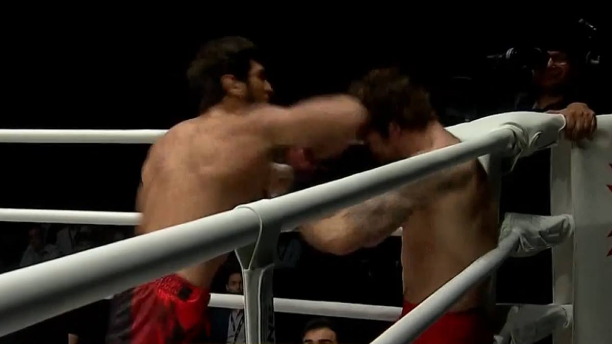 Muay Thai action in MMA fight at ONE A New Tomorrow (video)