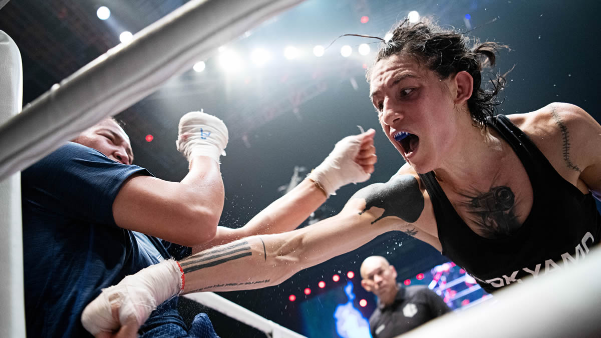 Souris Manfredi eyes history as the first female Lethwei champion