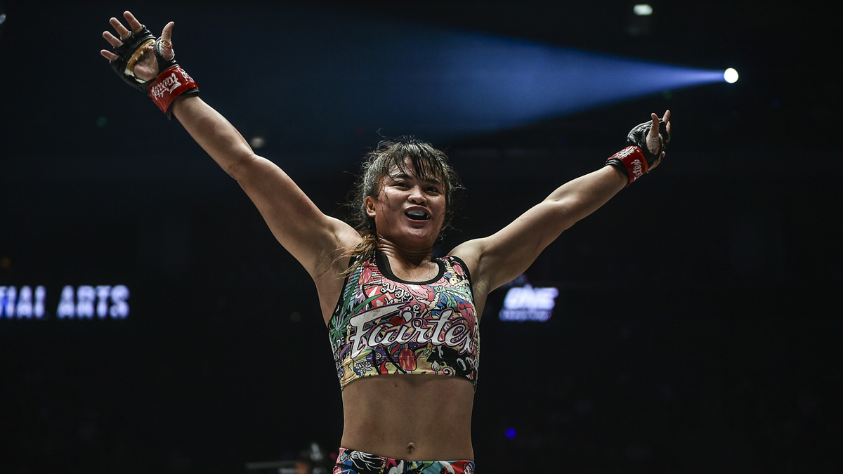 Stamp Fairtex defeats Puja Tomar in MMA bout