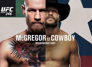 UFC 246 McGregor vs Cerrone airs live on pay-per-view