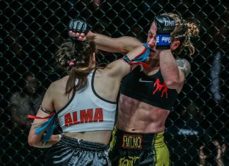 Anne Line Hogstad defeats Alma Juniku at ONE Championship