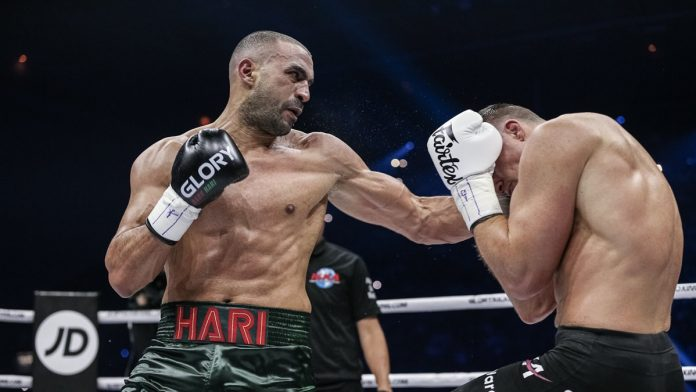 Badr Hari in GLORY Kickboxing