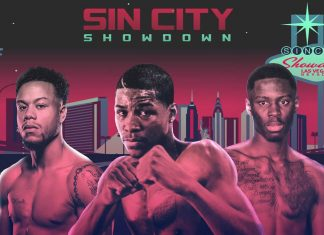 Hunter vs Rakhmanov 2 headlines Sin City Showdown live on Showtime live on Showtime