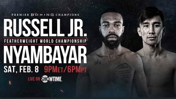 Gary Russell Jr. vs Tugstsogt Nyambayar live on Showtime