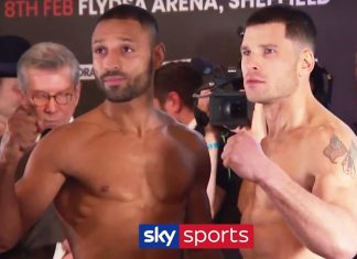Kell Brook vs Mark DeLuca weigh-in