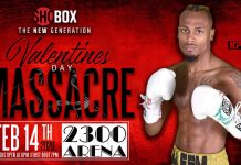 Thomas Mattice vs Isaac Cruz Gonzalez on ShowBox card