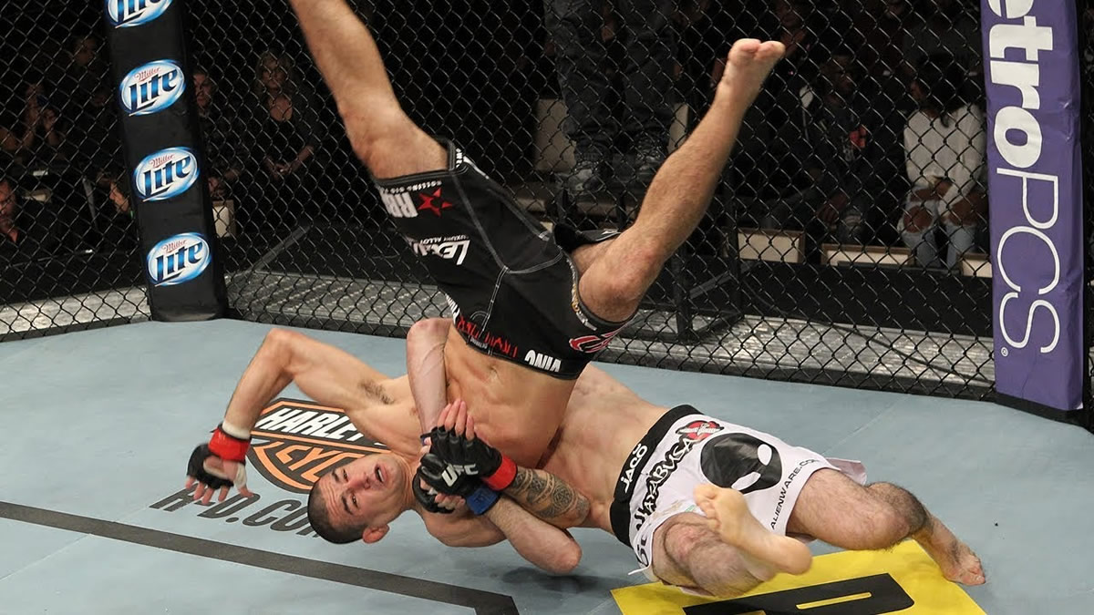 WATCH: 11 slam finishes in UFC