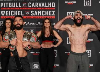 Bellator 241: Pitbull vs. Carvalho weigh-in