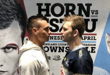 Jeff Horn vs Tim Tszyu cancelled