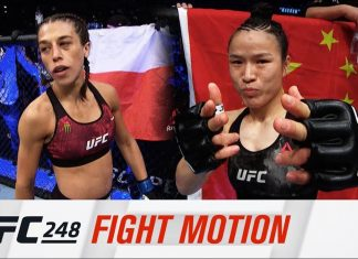 UFC 248: Fight Motion