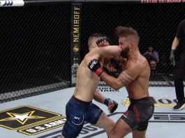 Calvin Kattar knocks Jeremy Stephens out at UFC 249