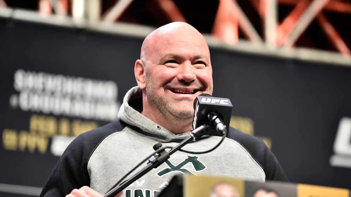UFC May 30 card is 'a go' at APEX in Las Vegas, Dana White