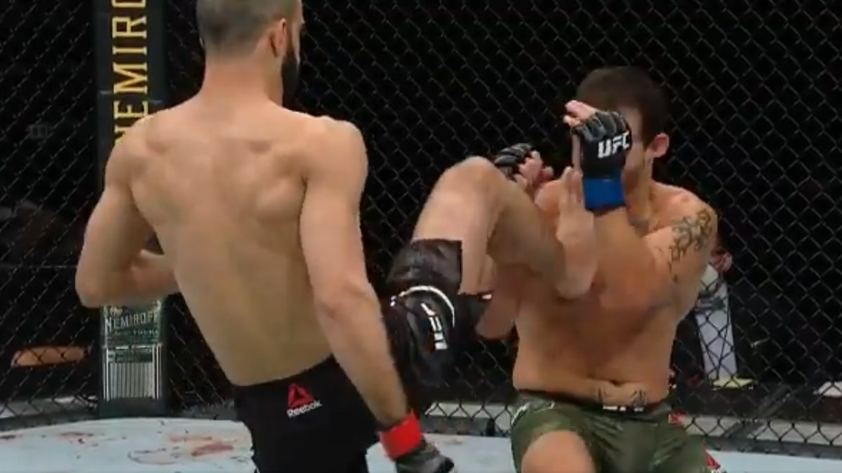 Watch Giga Chikadze vs Irwin Rivera fast-paced action at UFC Florida