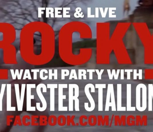 Rocky watch party with Sylvester Stallone