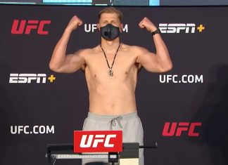 UFC heavyweight Alexander Volkov